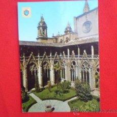 Postales: POSTAL NAVARRA CLAUSTROS CATEDRAL S/C A-356. Lote 36867004