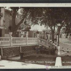Postales: TUDELA - PASEO MARQUES DEL VADILLO - FOTOGRAFICA - (15.372). Lote 37146934