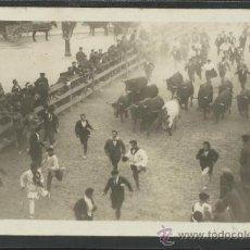 Postales: PAMPLONA - SAN FERMIN - FOTOGRAFICA -CIRCULADA EN 1929 -(15.805). Lote 37274230