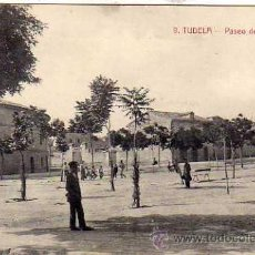 Postales: TUDELA NAVARRA. 9 PASEO DEL INVIERNO. CLICHES ARRIBAS. M. TELLO EDITOR. SIN CIRCULAR.. Lote 172612982