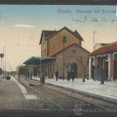 Postales: TAFALLA - ESTACION DEL FERROCARRIL - ED.ANTONIO ECHAIDE - (16.009). Lote 37463696