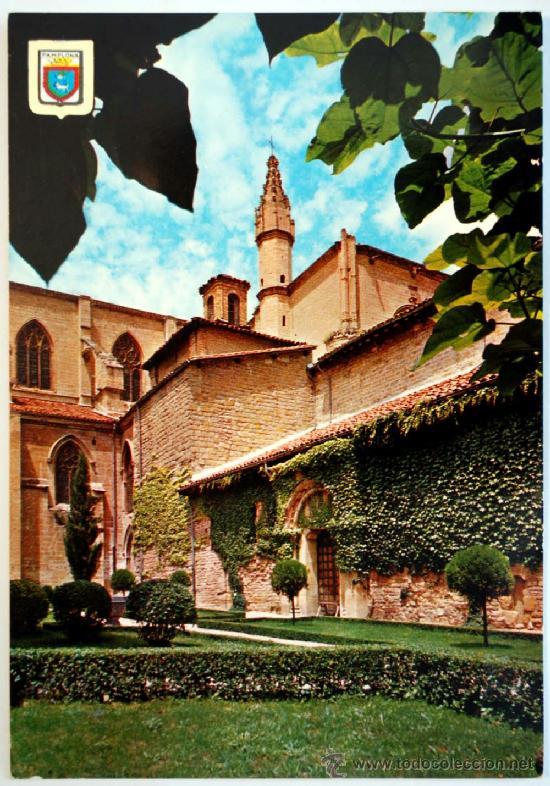 NAVARRA. PAMPLONA. CATEDRAL. ARCEDIANATO. (Postales - España - Navarra Moderna (desde 1.940))