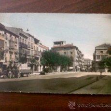 Cartes Postales: POSTAL TAFALLA-RECOLETAS Y PLAZA CORTES-GARCIA GARRABELLA-CIRCULADA 1962-COLOREADA. Lote 38647446
