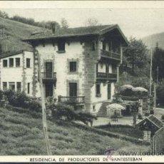 Postales: RESIDENCIA DE PRODUCTORES DE SANTESTEBAN (NAVARRA). Lote 38694382