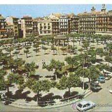 Postales: PAMPLONA, DOMINGUEZ, NR.48, CIRCULADA CON SU SELLO. Lote 38969066