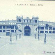 Postales: PAMPLONA (NAVARRA).- PLAZA DE TOROS. Lote 39430000