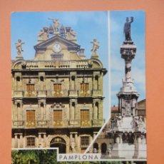 Postales: BELLEZAS DE PAMPLONA. ED. GARCÍA GARRABELLA.. Lote 39737350