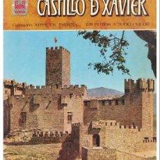 Postales: ESCUDO DE ORO - LIBRO CASTILLO DE XAVIER JAVIER - 1976- 1ª EDIC / NUEVO POR COMPLETO DE STOK QUIOSCO. Lote 40241347