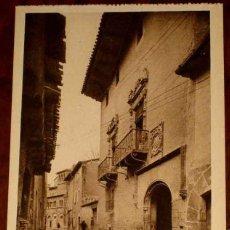 Postales: ANTIGUA POSTAL DE ESTELLA (NAVARRA) CASA SOLARIEGA (NAVARRA ASTISTICA) L. ROISIN, SIN CIRCULAR. Lote 38254355