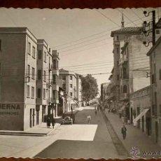 Postales: ANTIGUA FOTO POSTAL DE TUDELA (NAVARRA) CALLE SOLDEVILLA . GARRABELLA . SIN CIRCULAR. Lote 38254425
