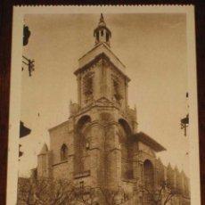 Postales: ANTIGUA POSTAL DE VIANA - NAVARRA - IGLESIA DE SANTA MARIA - ED. L. ROISIN - NO CIRCULADA.. Lote 38260220