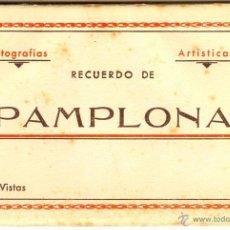 Postales: PAMPLONA LIBRITO ALBUM DE POSTALES. Lote 40545909