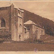 Postales: RONCESVALLES, MONASTERIO, EDITOR: NO LO INDICA, ESCRITA EN 1934. Lote 40570997