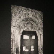 Postales: TUDELA NAVARRA IGLESIA DE LA MAGDALENA PORTADA ROMANICA SIGLO XII. Lote 40631939