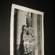Postales: TUDELA NAVARRA CATEDRAL VIRGEN SEDENTE SIGLO XII. Lote 40631960