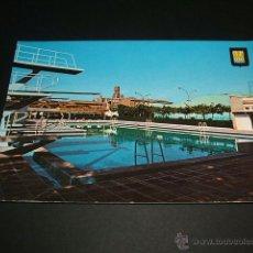 Postales: TUDELA NAVARRA PISCINA DE EDUCACION Y DESCANSO. Lote 41092008