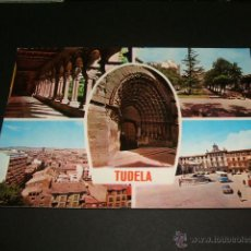 Postales: TUDELA NAVARRA VARIAS VISTAS. Lote 41221031