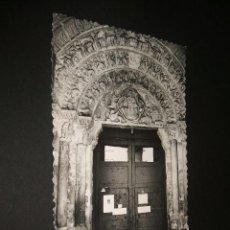 Postales: TUDELA NAVARRA IGLESIA DE LA MAGDALENA PORTADA ROMANICA SIGLO XII. Lote 41284329