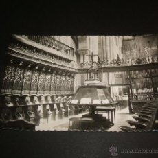 Postales: TUDELA NAVARRA CATEDRAL CORO Y ALTAR MAYOR. Lote 41290709
