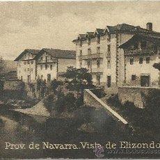 Postales: POSTAL ORIGINAL DECADA DE LOS 30. PROV. DE NAVARRA. ELIZONDO. Nº 1199. VER TAMAÑO Y EXPLICACION. Lote 41547133