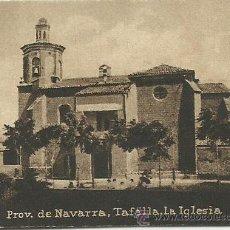 Postales: POSTAL ORIGINAL DECADA DE LOS 30. PROV. DE NAVARRA. TAFALLA. Nº 1204. VER TAMAÑO Y EXPLICACION. Lote 41547279