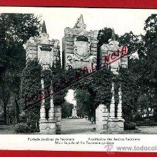 Postales: POSTAL PAMPLONA, NAVARRA, PORTADA JARDINES DE TACONERA, P92516. Lote 42475590