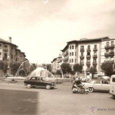 Postales: PAMPLONA Nº2 PLAZA DEL G. MOLA EDICIONES ALARDE CIRCULADA EN 1964. Lote 42738426