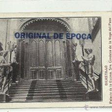 Postais: (PS-39820)POSTAL DE DICASTILLO-PALACIO DE LA EXMA.SRA.CONDESA DE LA VEGA DEL POZO. Lote 42841910