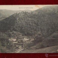 Postales: ANTIGUA POSTAL DEL BARRIO DE GAÑECOLETA. NAVARRA. ESCRITA. Lote 42860561