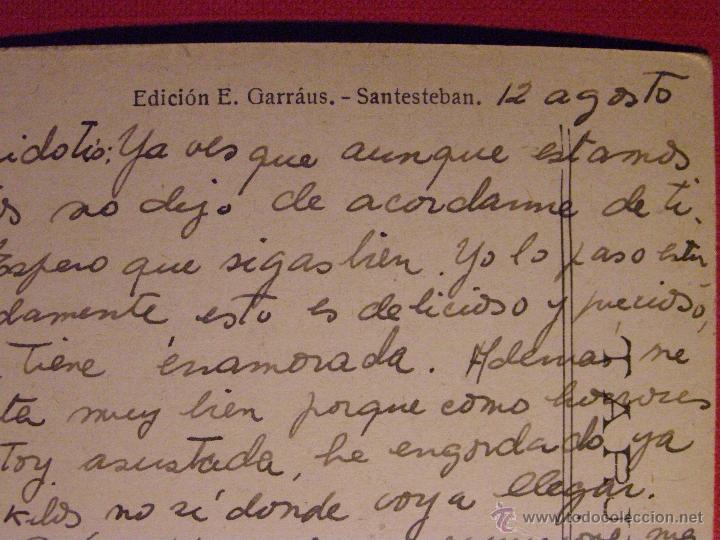 Postales: Muy Antigua Postal - Santesteban - Vista Parcial - Ediciones E. Garráus - Escrita - - Foto 2 - 43134426