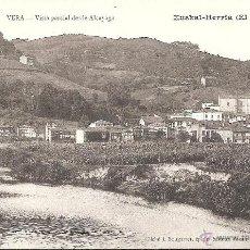 Postales: POSTAL VERA DE BIDASOA-BERA- VISTA PARCIAL DESDE ALCAYAGA.. Lote 46895317