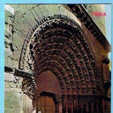 Postales: 204. TUDELA. CATEDRAL PUERTA DEL JUICIO. EDICIONES PARIS. 70'S. Lote 43471808