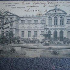 Postales: PAMPLONA ARCHIVO PROVINCIAL POSTAL ANTERIOR A 1905. Lote 43625814