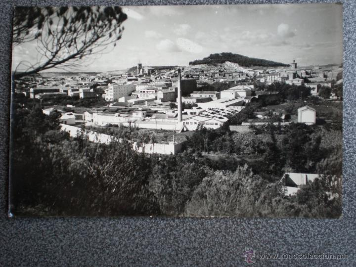 TAFALLA VISTA PANORÁMICA POSTAL ANTIGUA (Postales - España - Navarra Antigua (hasta 1.939))