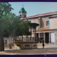 Postales: POSTAL DE ALSASUA, NAVARRA. Nº1 PLAZA DE ESPAÑA. COLOREADA. EDICIONES PARIS-ZARAGOZA. AÑOS 50.. Lote 43931634