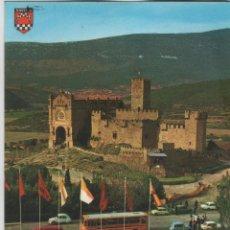 Postales: POSTALES-LOTE DE 7 TARJETAS DE CASTILLO DE JAVIER (NAVARRA). Lote 44116422