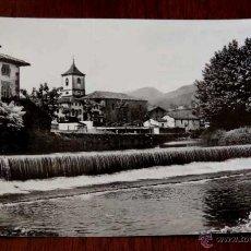 Postales: FOTO POSTAL DE SANTESTEBAN, NAVARRA, N.5, ED. CASA OSTIZ, CIRCULADA.. Lote 133293445