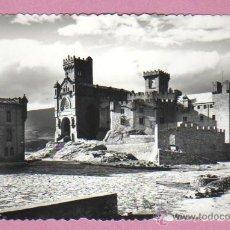 Postales: POSTAL DEL CASTILLO DE JAVIER - NAVARRA - VISTA DEL CASTILLO Nº 2 DE EDICIONES SICILIA. Lote 45162977