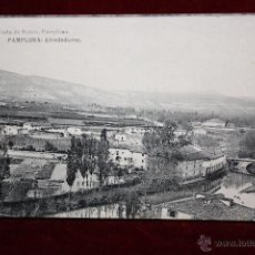 Postales: ANTIGUA POSTAL DE PAMPLONA. NAVARRA. ALREDEDORES. FOTPIA. HAUSER Y MENET. SIN CIRCULAR. Lote 45236869