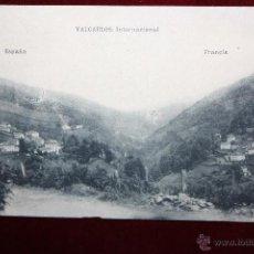 Postales: ANTIGUA POSTAL DE VALCARLOS. NAVARRA. VISTA GENERAL. FOTPIA. HAUSER Y MENET. SIN CIRCULAR. Lote 45308604
