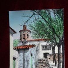 Postales: ANTIGUA FOTO POSTAL DE TAFALLA. NAVARRA. UN RINCON DE SAN PEDRO. ED. MONTAÑES. CIRCULADA. Lote 45343645