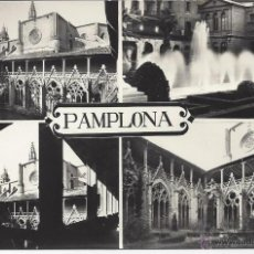 Postales: PAMPLONA. VAQUERO Nº 4/7. 4 VISTAS. Lote 45365698