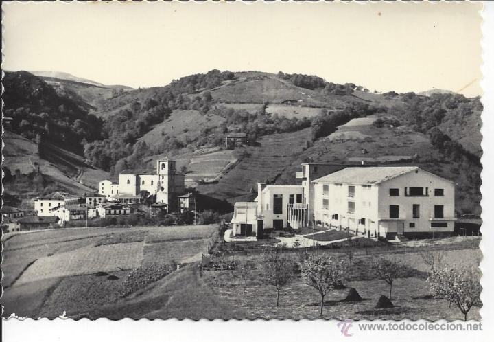 VERA DE BIDASOA. ALBERGUE DE F.E.T. Y VISTA PARCIAL. EDI. AISA Nº 15 (Postales - España - Navarra Moderna (desde 1.940))