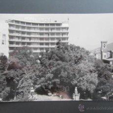 Postales: POSTAL NAVARRA. PAMPLONA. HOTEL LOS TRES REYES. CIRCULADA. . Lote 45592426