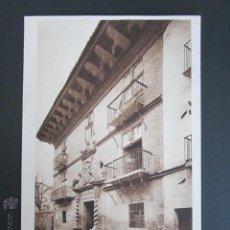 Postales: POSTAL NAVARRA. SANGÜESA. CASA DE LOS MARQUESES DE VALLE SANTORO. . Lote 45591007