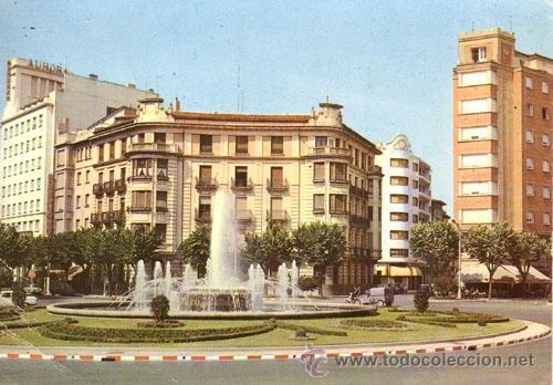 Nº 5353 POSTAL PAMPLONA PLAZA DEL PRINCIPE DE VIANA (Postales - España - Navarra Moderna (desde 1.940))