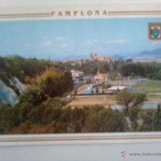 Postales: PAMPLONA: HUERTA DE LA ROCHAPEA. Lote 46105998