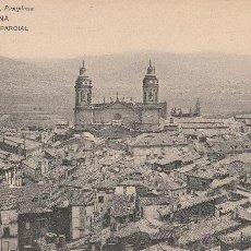 Postales: Nº 16332 POSTAL VIUDA DE RUBIO PAMPLONA VISTA PARCIAL 1912. Lote 46145847