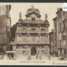 Postales: PAMPLONA -CASA CONSISTORIAL - - (26949). Lote 46289853