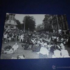 Postales: TOROS - PAMPLONA ,ENCIERROS SAN FERMIN POSTAL FOTOGRAFICA FOTO GOMEZ 15X10 CM. AÑOS 60 . Lote 46297723